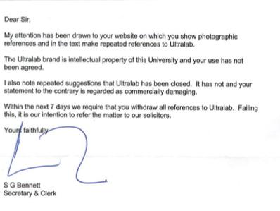Steve Bennett Letter